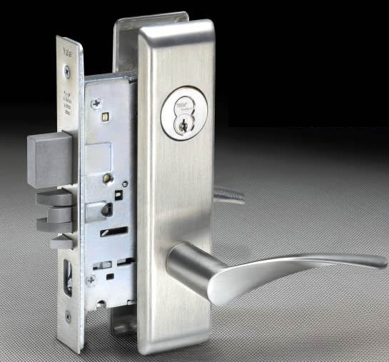 mortise locks combined